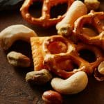 nuts and pretzels